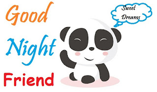 good night images for best friend in english