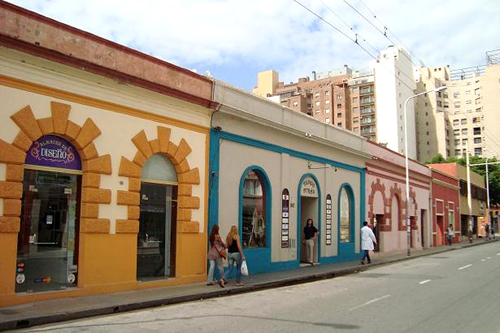 La biblioteca de la faud barrio g emes c rdoba for Fachadas de casas de barrio
