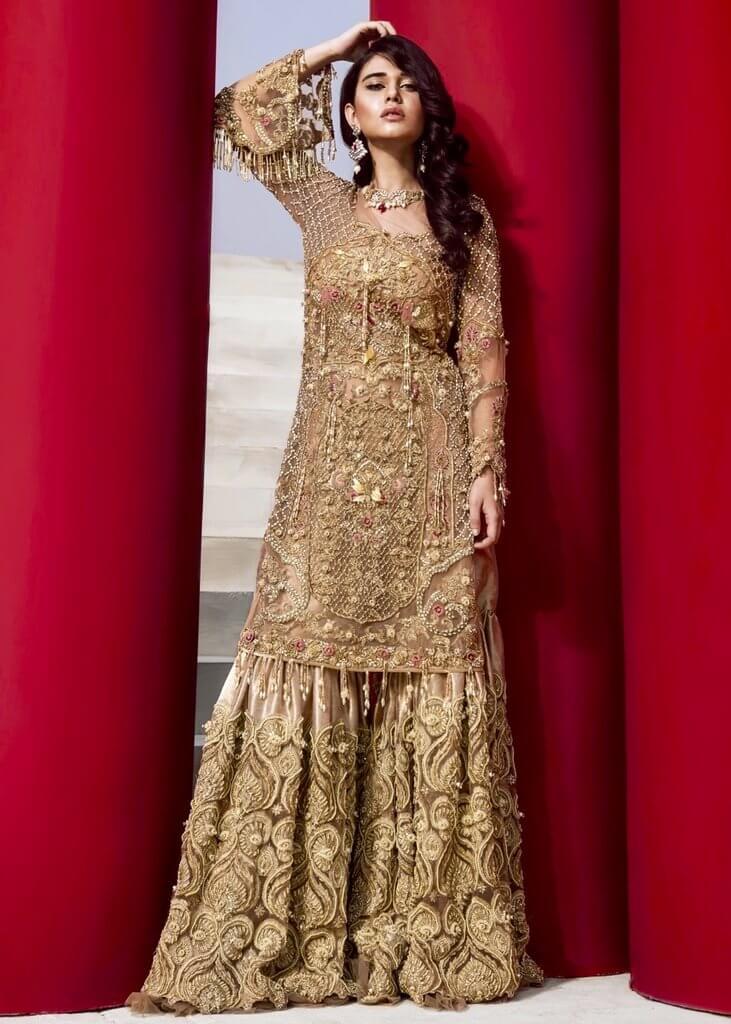 Bridal Sharara for Mehndi