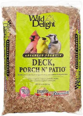 Wild Delight Deck, Porch N' Patio No Waste Bird Food