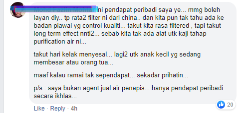 halal haram water filter