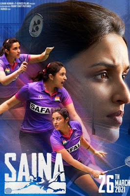 Saina (2021) Hindi Movie Pre-DVDRip 720p | 480p x264 970Mb | 400Mb