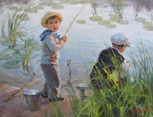 Vladimir Gusev / Владимир Гусев, 1957 | Figurative painter ...