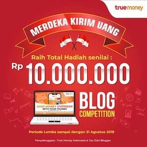 Lomba blog truemoney diikuti Indorsie.com