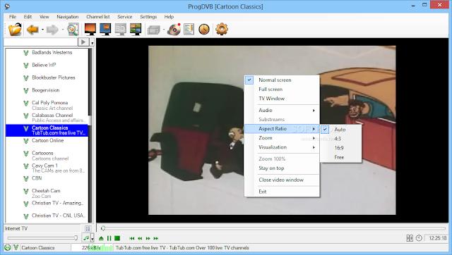 تحميل برنامج قنوات التلفزيون على الكمبيوتر مجانا ProgDVB
