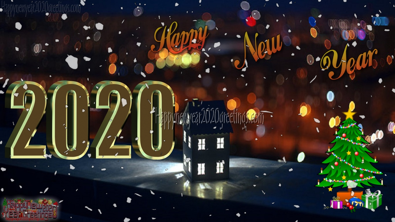Happy New Year 2020 3D Wallpapers Download Free - New Year