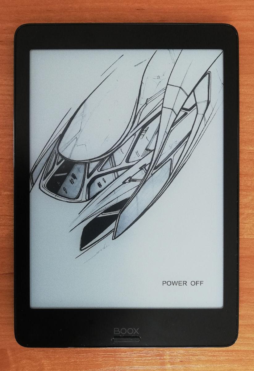 Onyx Boox Nova 2 – ekran wyłączonego czytnika i front obudowy