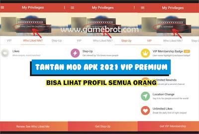 Tantan Mod APK 2021 Premium VIP Bisa Lihat Profil Semua Orang