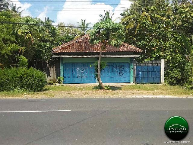 Rumah Ruang Usaha tepi jalan Godean Km 17