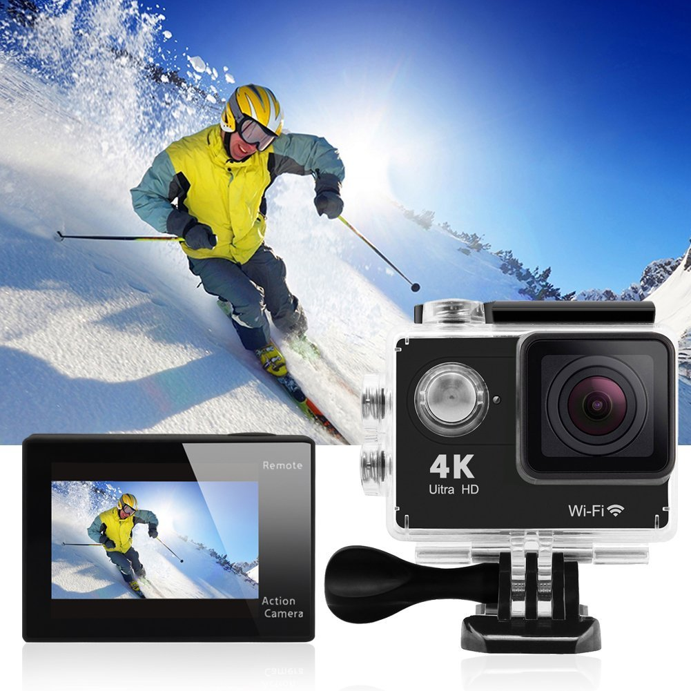 Dslr Cameras Geekpro 40 Plus 4k Hd Action Camera Wrist 24g X Pro 6s 12 Mp Everything Is Taken With A Wide Angle 170ultra Lens Which Give You Fantastic Shooting Experience When Capturing Your Sports