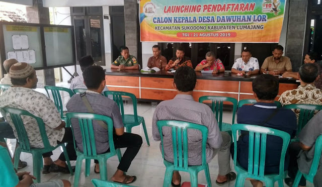 Camat menengahi permasalahan tahapan Pilkades di Dawuhan Lor