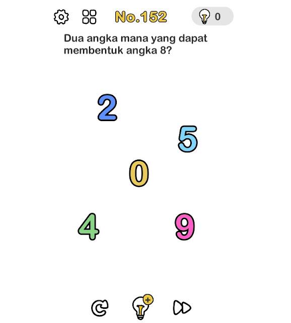 Dua angka mana yang dapat membentuk angka 8