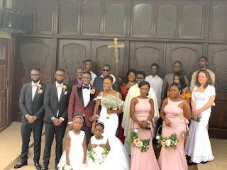 See Photos - Gospel Musician Noble Nketsiah Marries