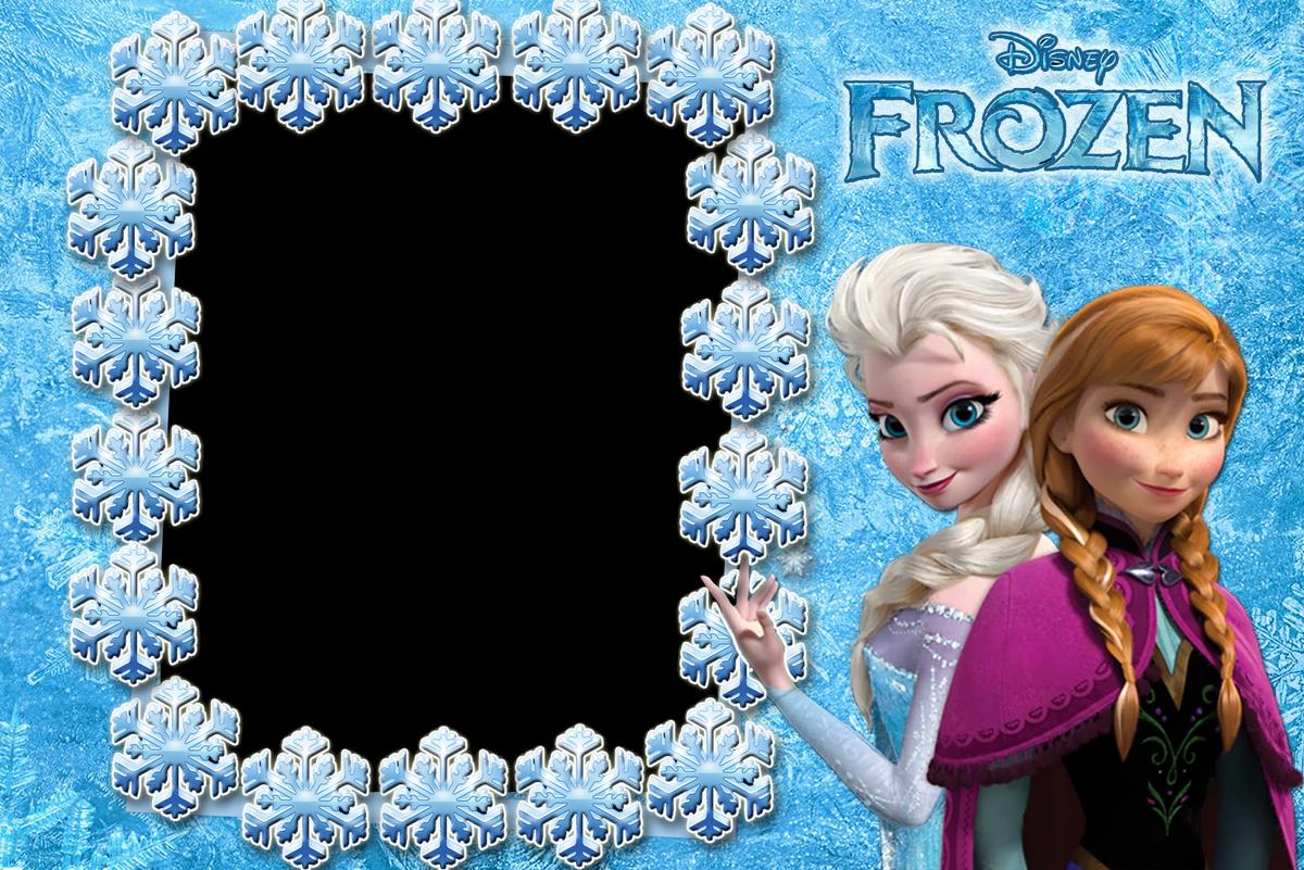 Marcos de Fotos de Frozen y sus Amigos ~ Marcos Gratis ...
