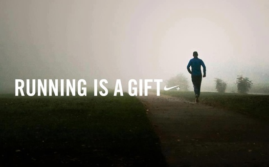 running is a gift