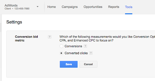 "Simplifying conversion measurement: saying goodbye to ""Converted clicks"""