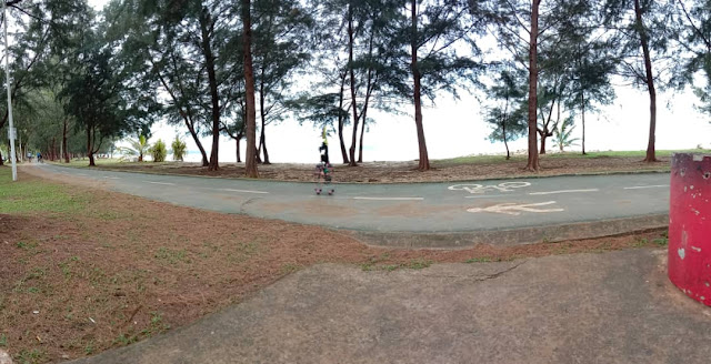 I Start Running After Awhile | Teluk Likas Jogging Track Kota Kinabalu