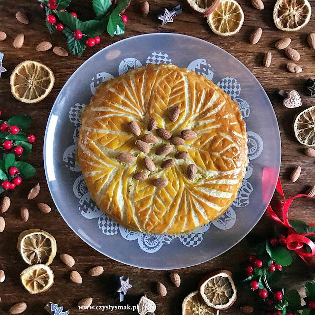 Galette des rois czyli migdałowe ciasto na Święto Trzech Króli