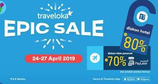 Cara Pakai Epic Sale Traveloka