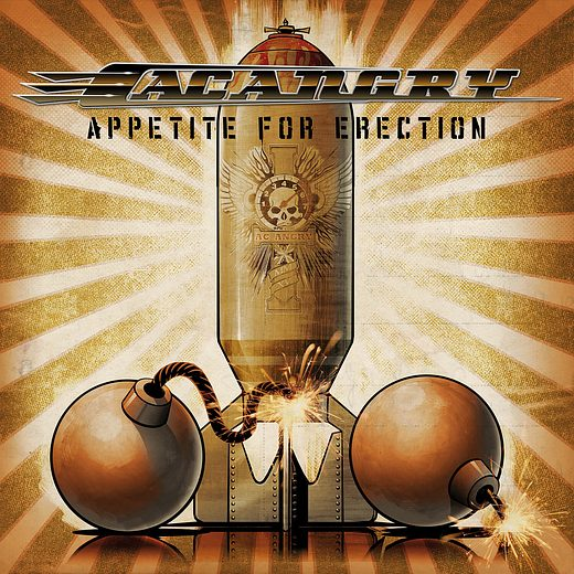 AC ANGRY - Appetite For Erection (2016) full