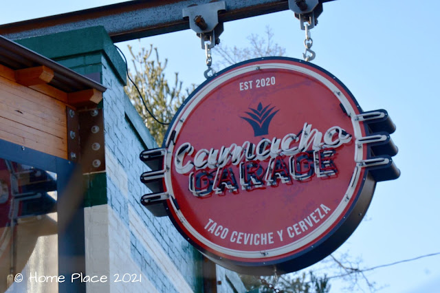 Camacho Garage Sign Logo