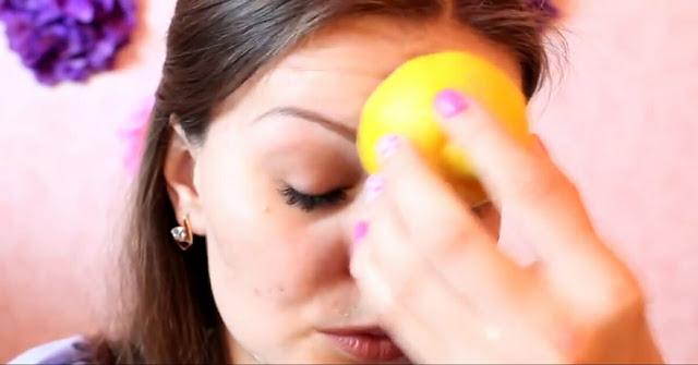 Memoles wajah dengan lemon dan apa yang harus dihindari