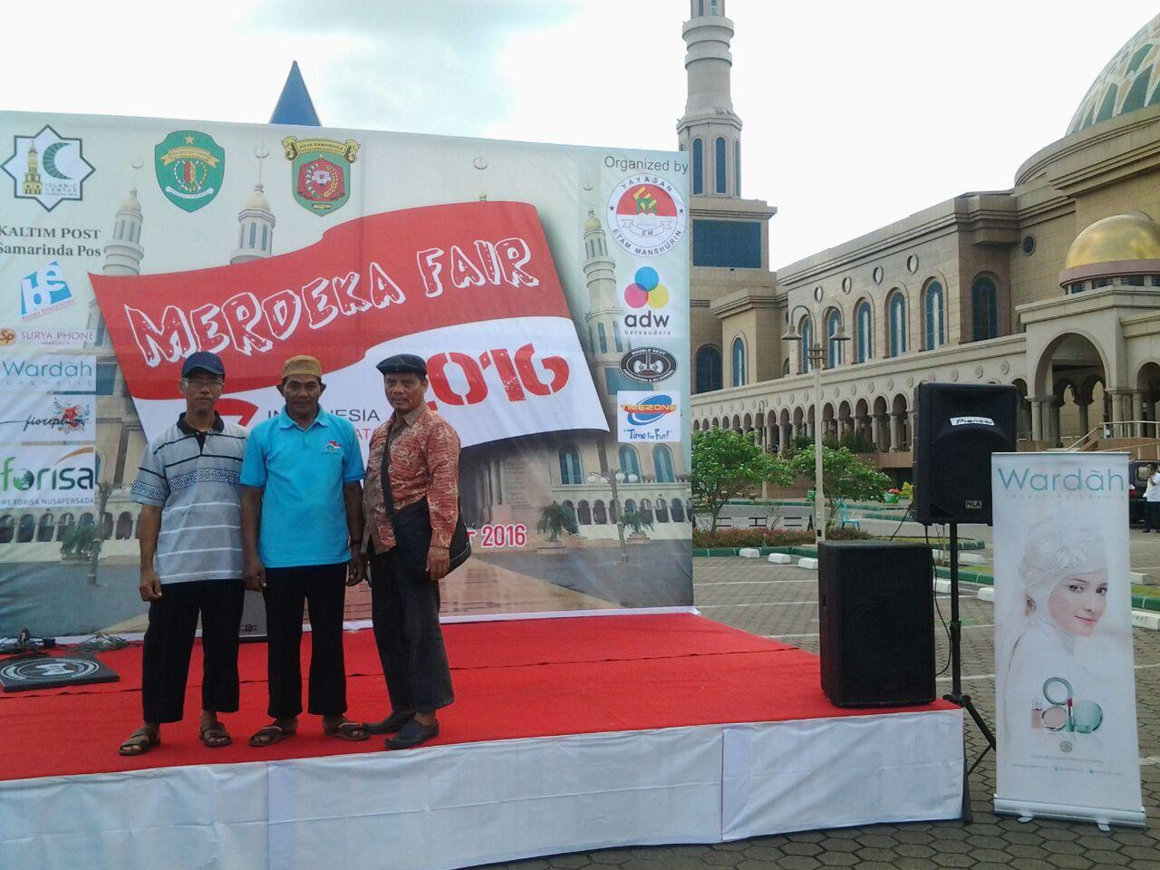 Yayasan Etam Sukses Gelar Merdeka Fair di Islamic Center Samarinda
