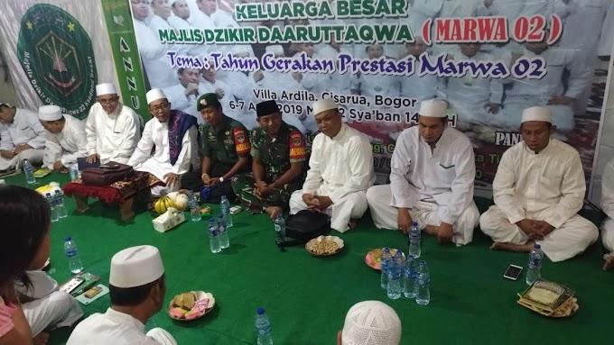 Pengajian Rutin, 250 Masyarakat Ikuti Tausiah Ustad Matjen HS