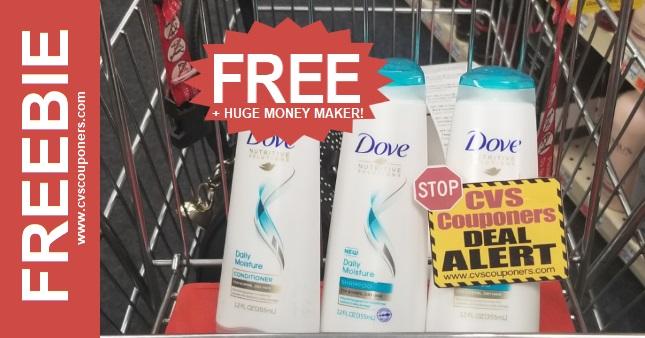 FREE Dove Shampoo CVS Coupon Deal