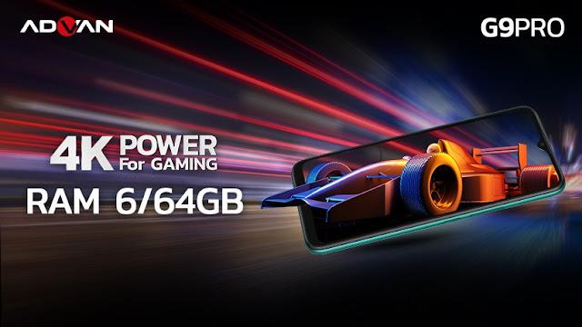 RAM ADVAN G9 Pro 6/64GB