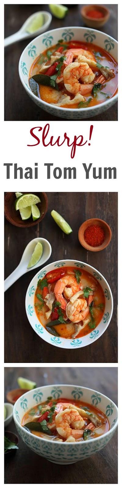 Tom Yum Soup Shrimp Recipe