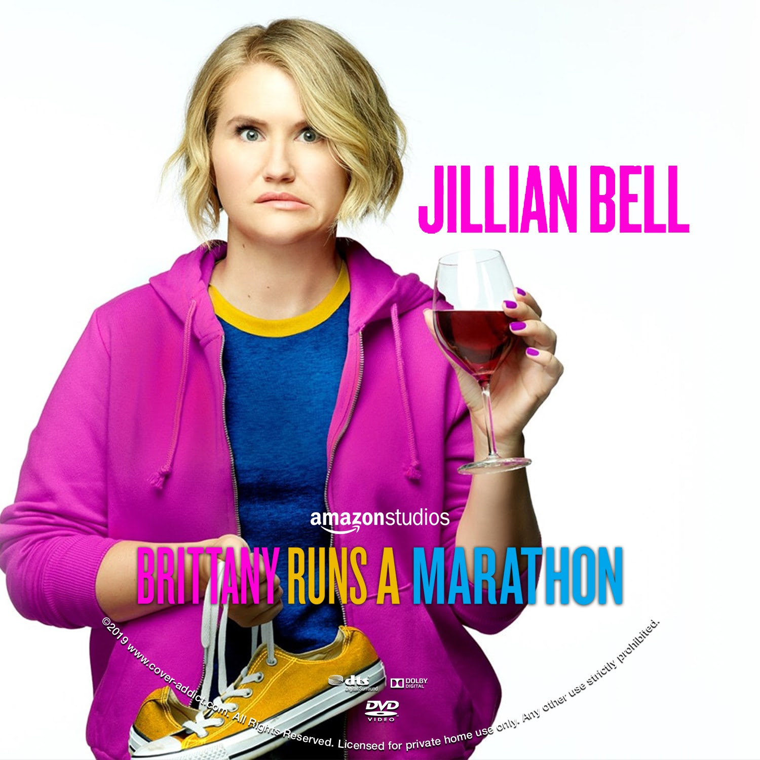 Brittany Runs A Marathon Dvd Label Cover Addict Free Dvd Bluray Covers And Movie Posters