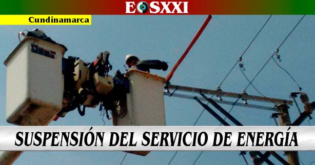 Trabajos programados en la red de energía para el 26 de enero