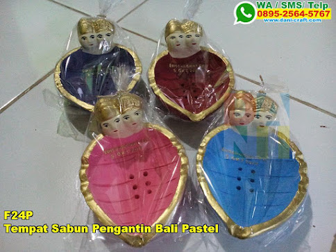 Harga Tempat Sabun Pengantin Bali Pastel