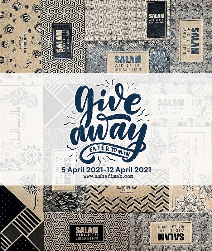 Giveaway Sampul Raya Hipster