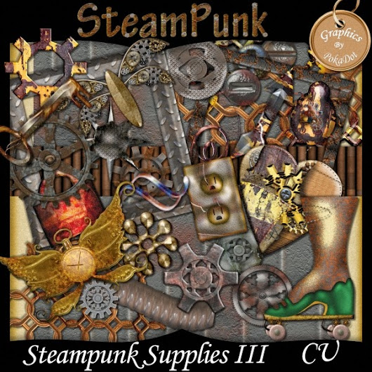 Steam Punk Designer Supplies
