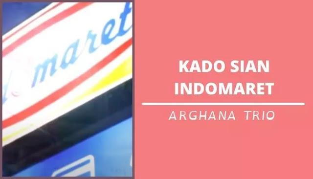 Lirik Chord Kado Sian Indomaret