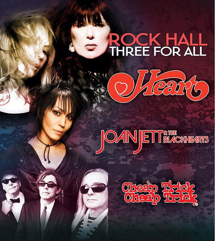 VintageRock com News: Heart, Joan Jett & Cheap Trick Touring