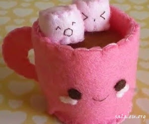 Making Cute Coffee Cup Shape Dolls