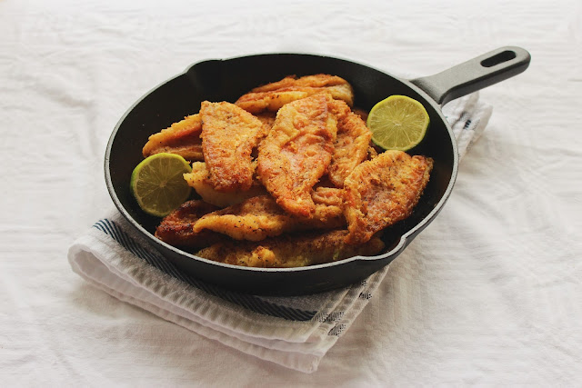Mahi- Fried Fish-Iranian-Style