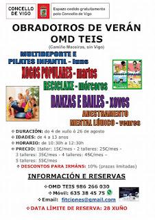 Campamentos de Verano en Vigo - OMD TEIS