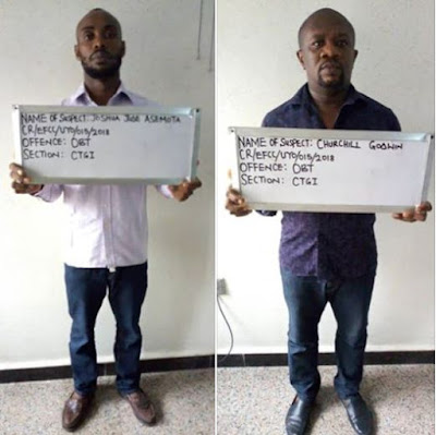 2 Wonder Bank Operators Arrested, Remanded In Prison