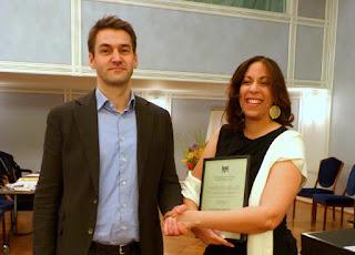 Poeta dominicana Jael Uribe gana premio en Noruega