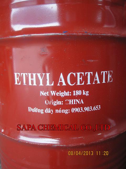 Dung môi Ethyl Acetate EA hàng bồn