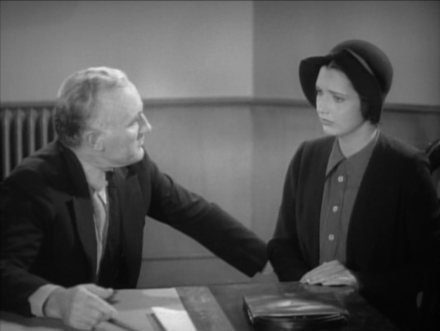 Donald Crisp and Kay Francis Comet Over Broadway (1938)