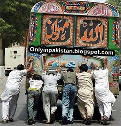 funny Pakistani bus