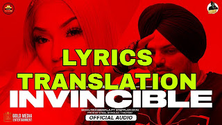 Invincible Lyrics in English | With Translation | – Sidhu Moose Wala | Stefflon Don