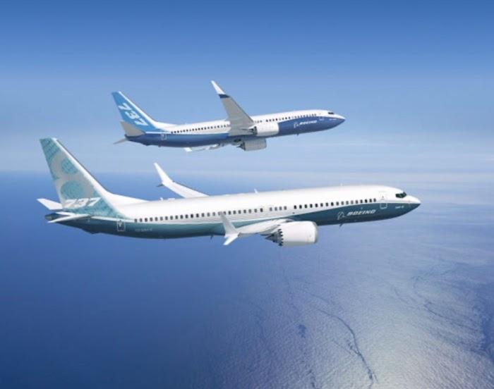 Boeing 737 MAX  Produção do Boeing 737 MAX Será Suspensa