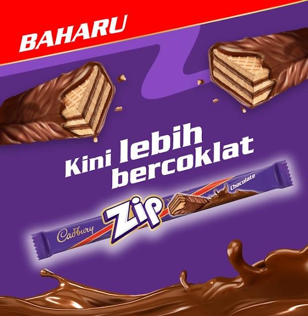 Cadbury Zip, Chocolate Wafer, Cadbury Chocolate, Cadbury Malaysia, Mondelēz International, Chocolate, Food