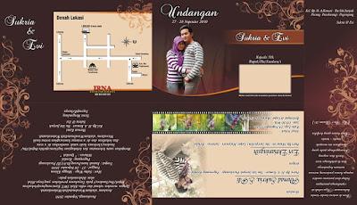 3 Desain Undangan Pernikahan Keren Full Colour CDR Vektor Free Download
